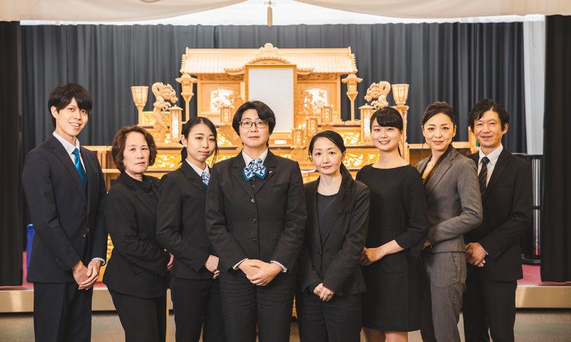 経験豊富なスタッフが作る葬儀