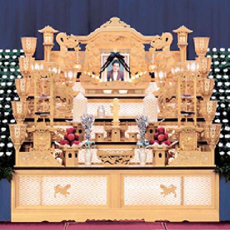 仏式白木祭壇互助会プラン