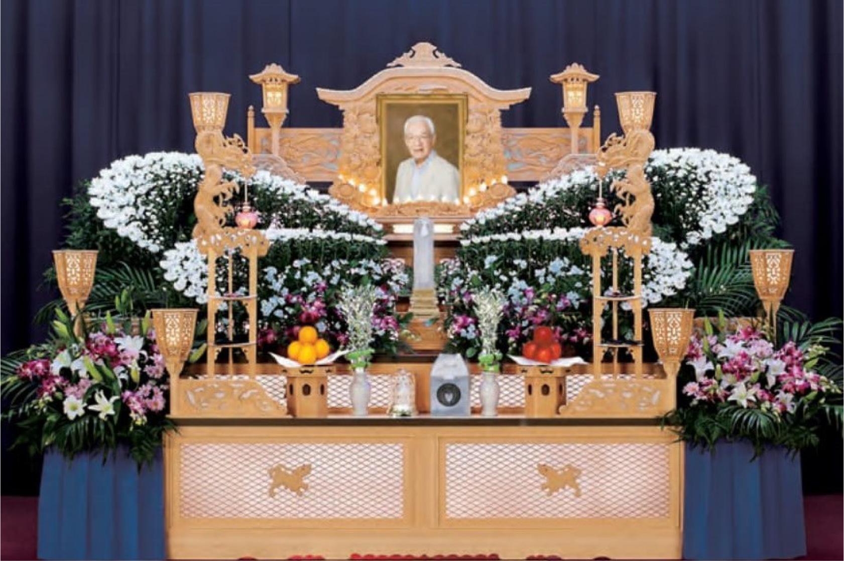 家族葬 山茶花